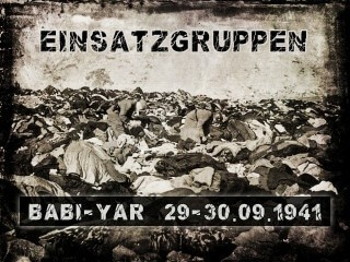 The massacre in Babi Yar